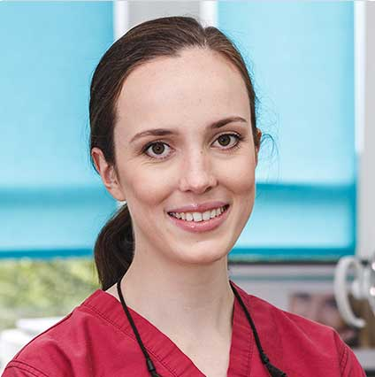 Dr Sarah J Young  BDS BSc (Hons) – GDC 265174  Dental Surgeon